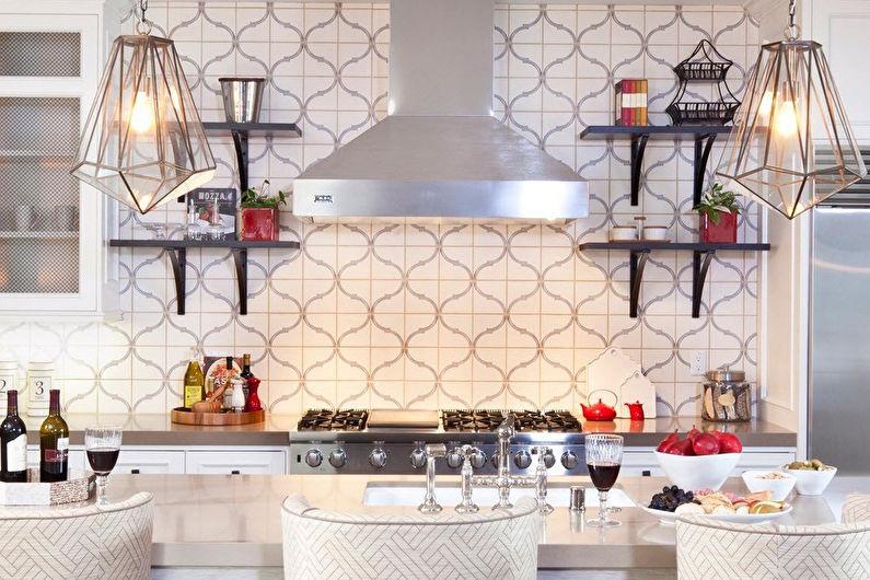 Décoration murale cuisine - Carreaux de céramique
