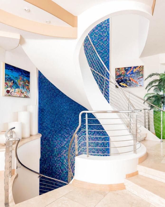supports métalliques pour escaliers