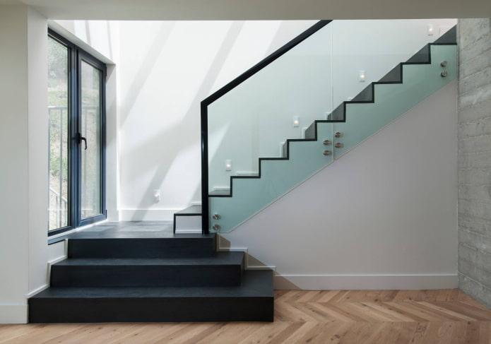 verre pour escaliers