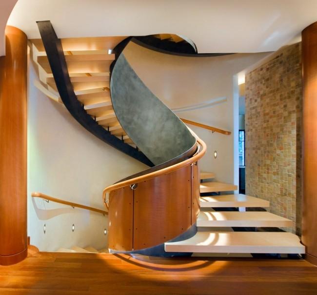Garde-corps dans le style du modernisme