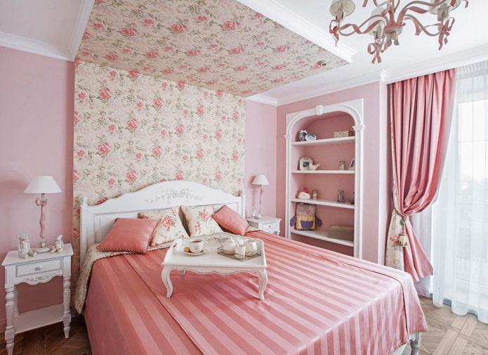 décoration de la chambre à la provençale