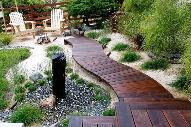 Allées de jardin DIY - Planches