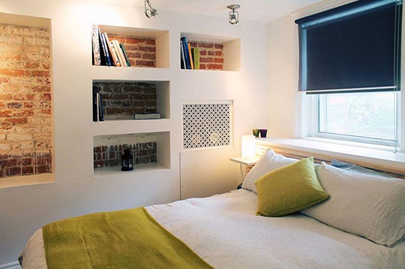 Conception de la chambre 12 m²  style loft