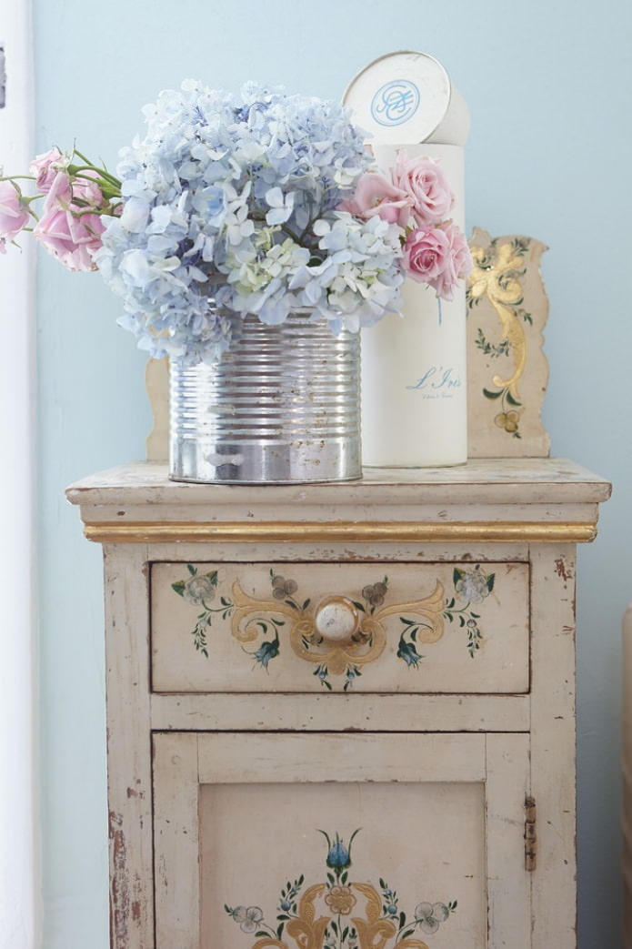 commode effet ancien