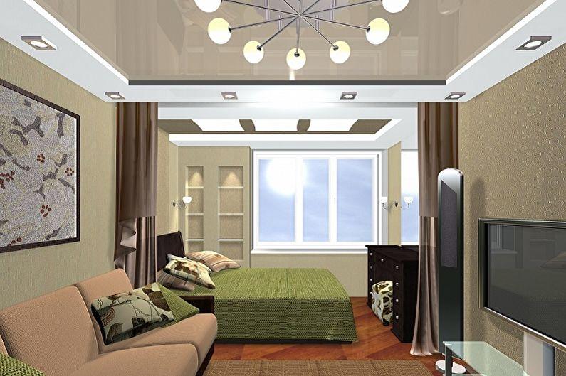 Chambre Rectangulaire - Éclairage