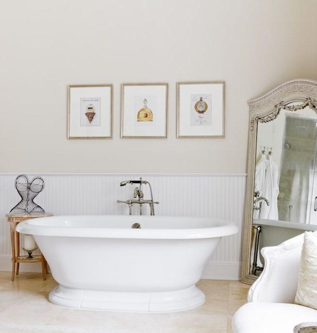 Miroir de sol de luxe pour dame salle de bain