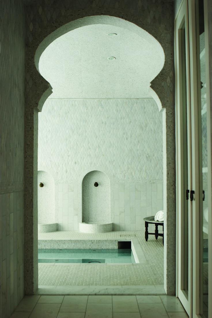 Arches de cloison sèche de style oriental - design, photo à l'intérieur