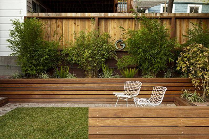 Types de clôtures en bois - Classique