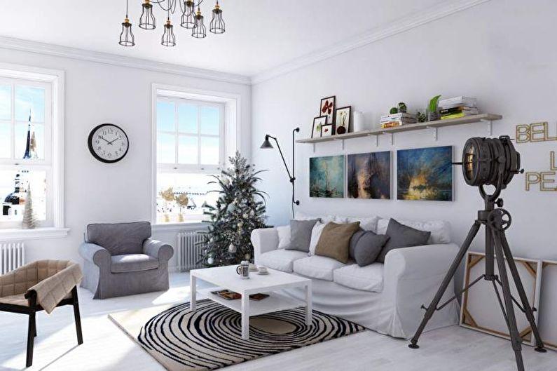Design de salon scandinave - Caractéristiques