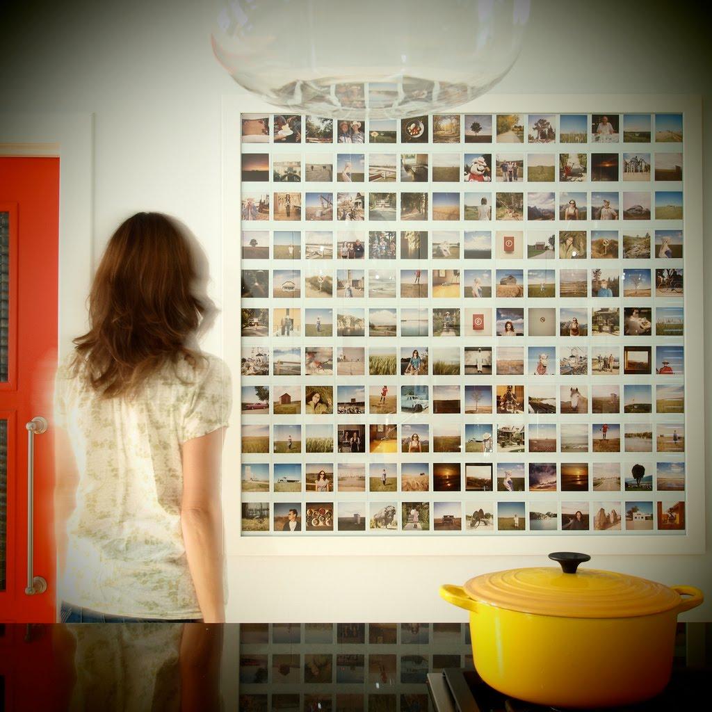 Panel de dizaines de photographies