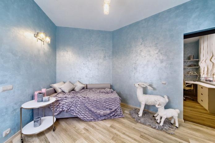 Enduit décoratif pour murs