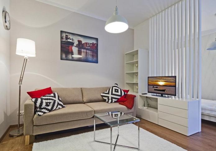 zonage appartement 36 carrés