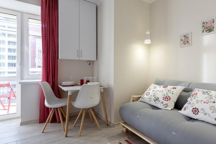 appartement intérieur 36 places