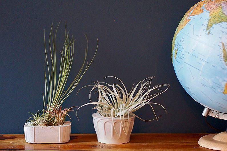 Pot de fleurs en béton bricolage