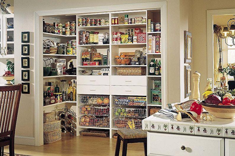 Où placer le garde-manger - Dans la cuisine