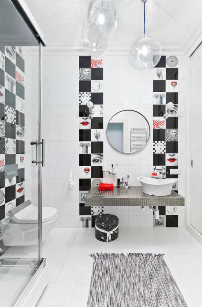 Style Art déco dans la conception de salle de bain