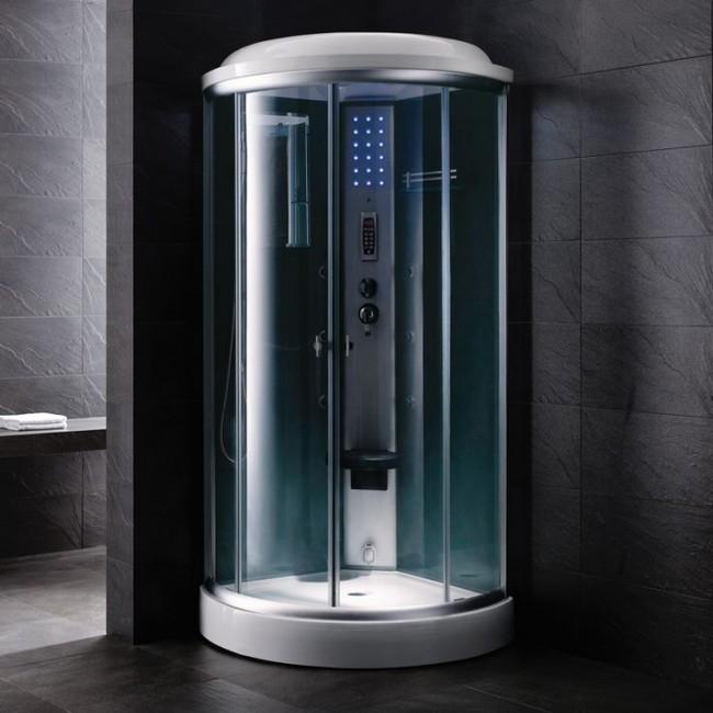 La cabine de douche avec hydromassage vous aidera à vous détendre après une journée bien remplie