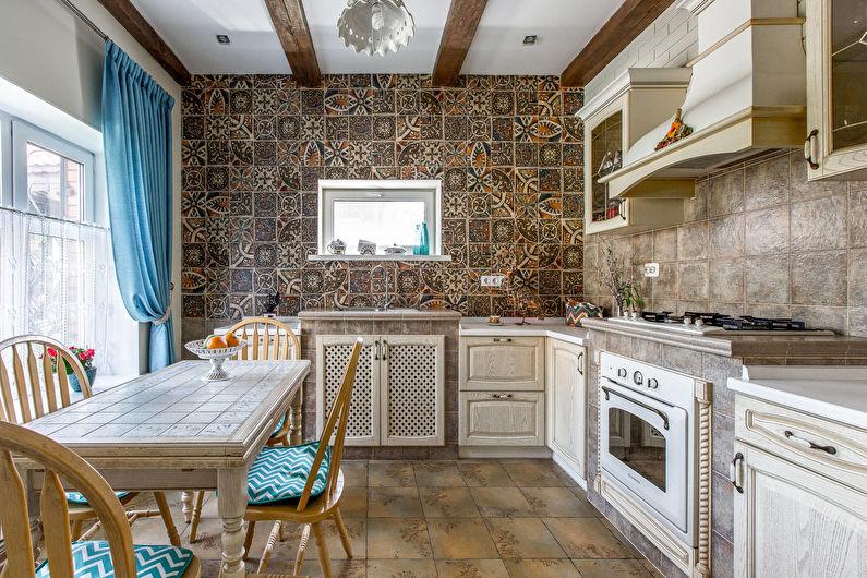 Cuisine de style campagnard - design et décoration murale