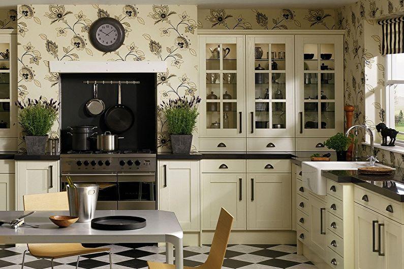 Types de papier peint lavable pour la cuisine - Par matériau de fabrication