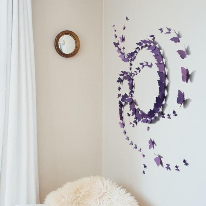 tourbillon de papillons