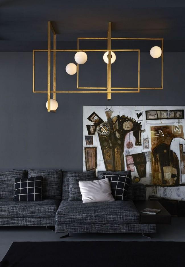 Un lustre bien choisi aidera à créer une atmosphère particulière dans la pièce.