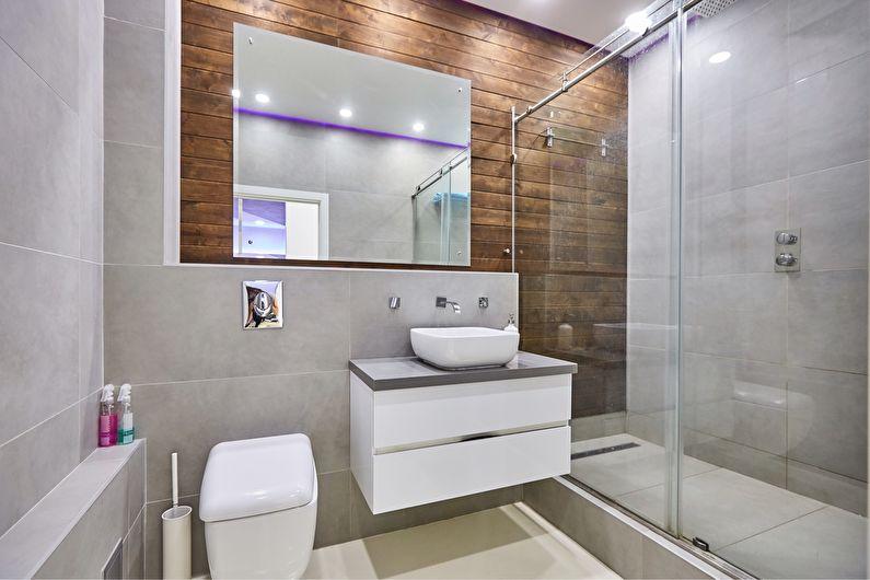 Conception de salle de bain à Khrouchtchev - réaménagement