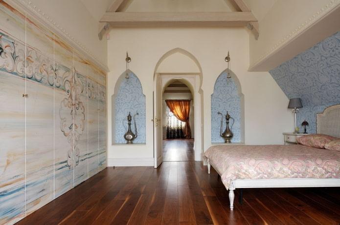 plaques de plâtre arches musulmanes à l'intérieur