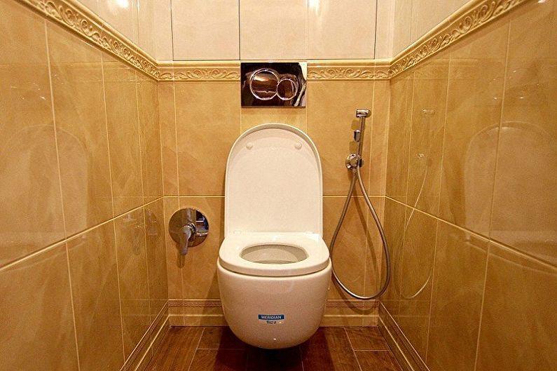 Conception de toilettes à Khrouchtchev - Par où commencer les réparations