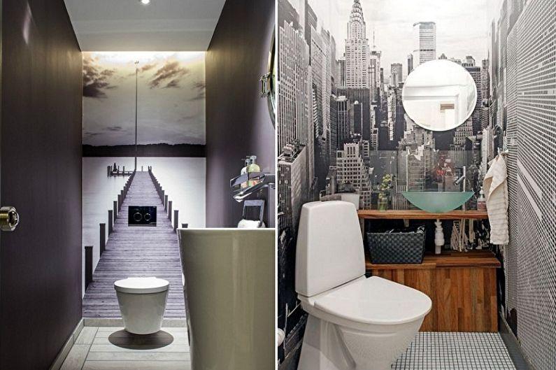 Conception de toilettes à Khrouchtchev - Décoration murale