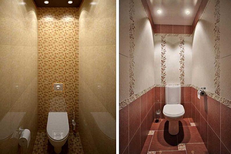 Conception de toilettes à Khrouchtchev - Couleurs