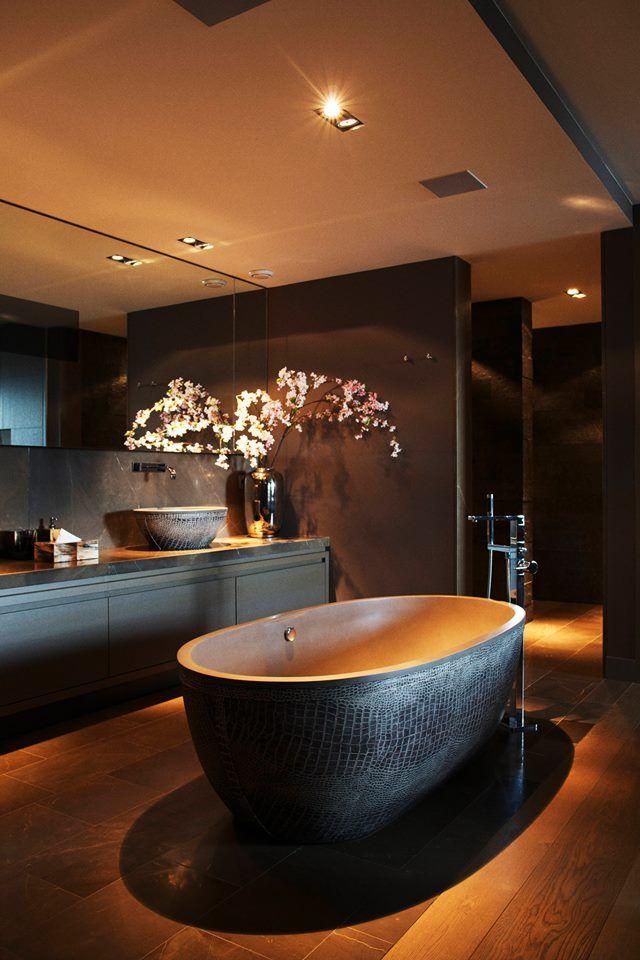 Une douce lueur de petites lampes au plafond créera une sensation de confort et de chaleur