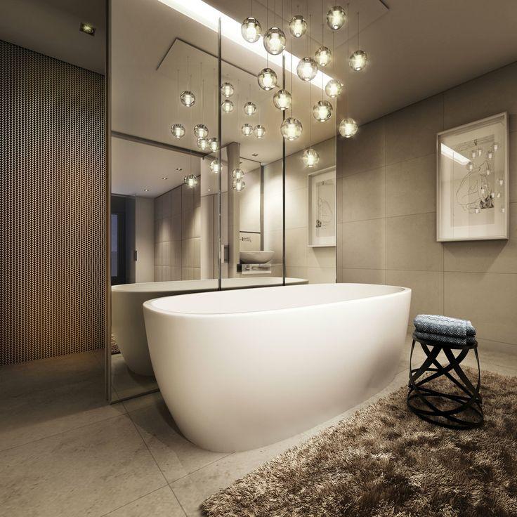 Les accessoires de salle de bain élégants transformeront le look de votre intérieur