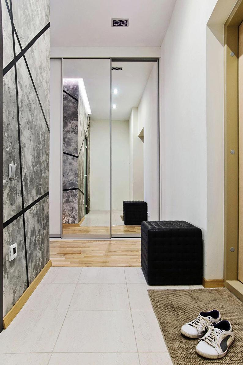 Conception de couloir dans un style moderne - Échelle neutre