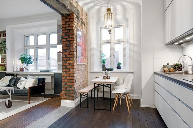 Tous les murs ne peuvent pas être complètement démolis lors du réaménagement d'un appartement