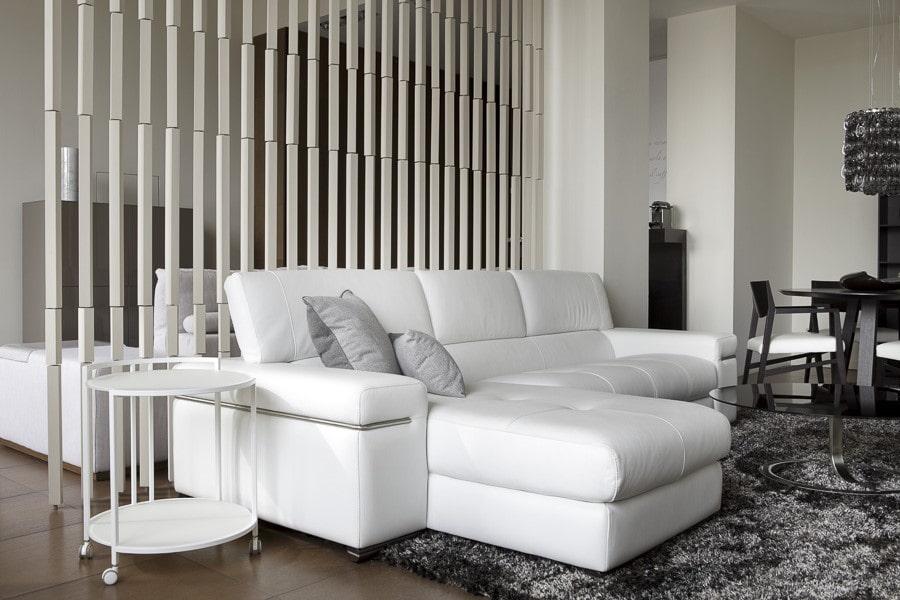 Canapé en cuir écologique