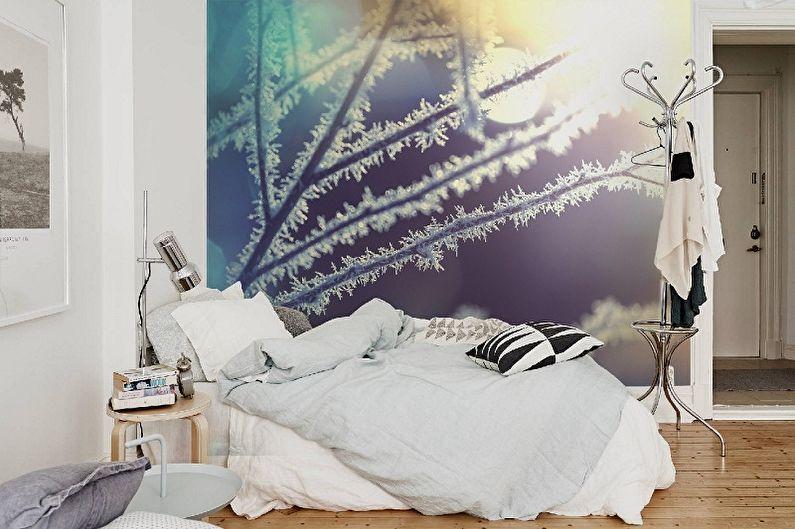 Papier peint photo dans la chambre - Avantages et caractéristiques