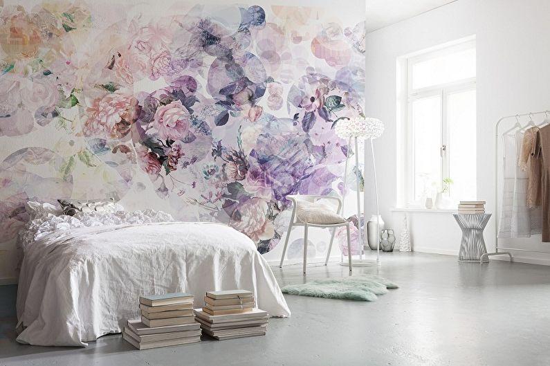 Types de papier peint pour la chambre - Selon les matériaux de fabrication