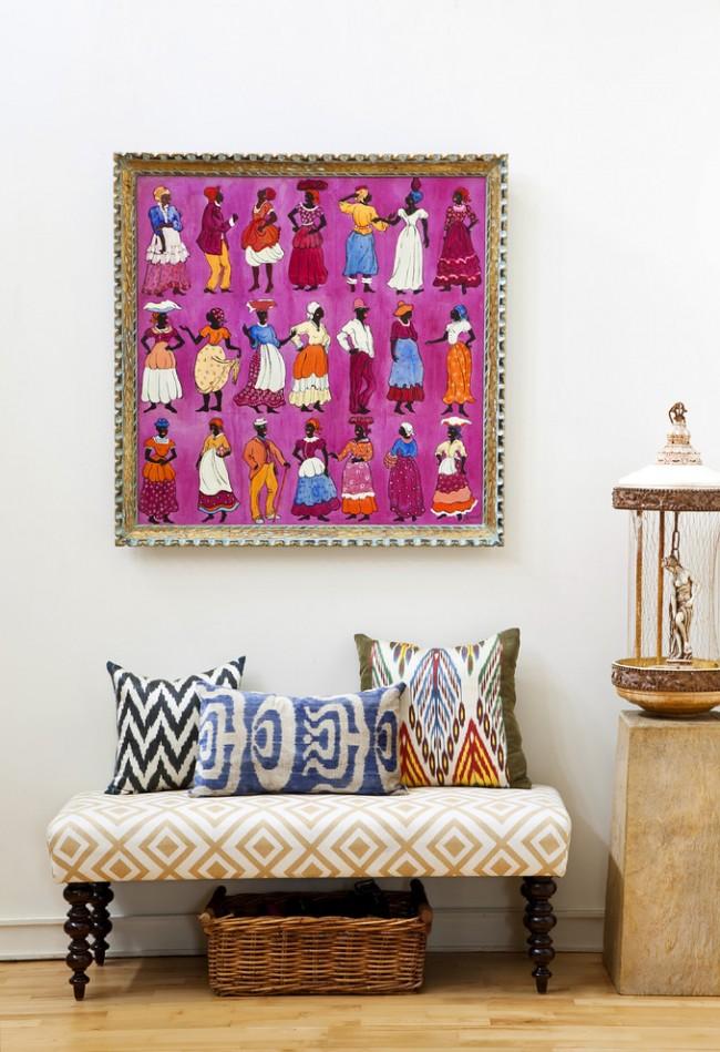 Dans ce style, l'emprunt direct de toutes les méthodes et types de décor de tous les peuples du monde n'est pas interdit.