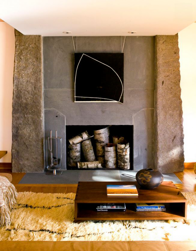 Les matériaux naturels ajouteront de la chaleur et du confort même à l'intérieur le plus ascétique