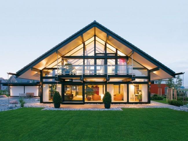 Les technologues modernes permettent d'obtenir une maison