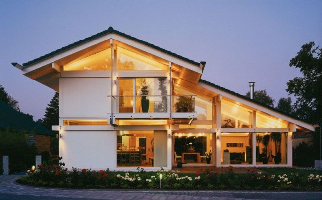 Les tendances du design moderne ont permis de donner un nouveau son et un nouveau contenu aux maisons à colombages