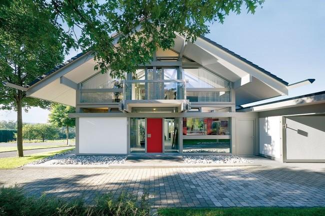 Les maisons à colombages modernes gagnent de plus en plus en popularité