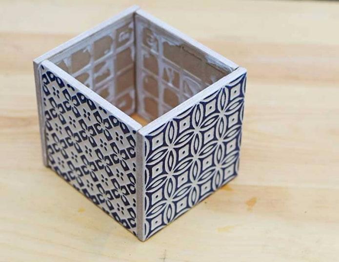 Cube en céramique