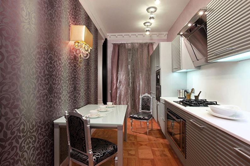 Cuisine Art Déco Violet - Design d'intérieur
