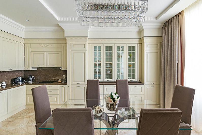 Cuisine Art Déco Beige - Décoration d'intérieur