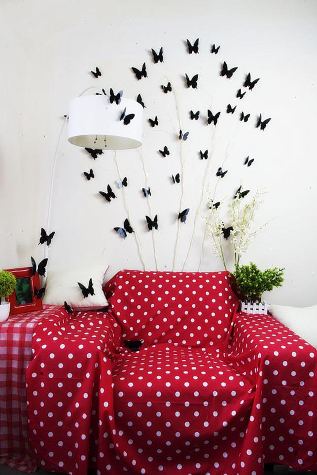Faire des papillons vous-même vous aidera à vous remonter le moral, à rafraîchir la pièce et à économiser votre budget familial.