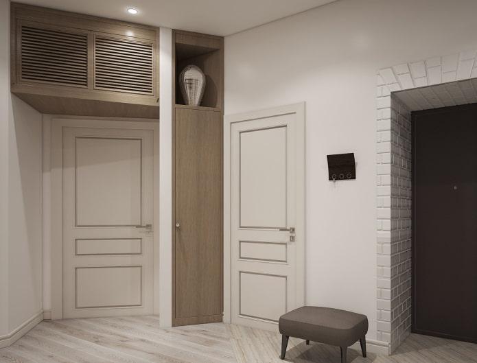 mezzanine à l'intérieur