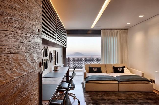 Les structures de plafond en plaques de plâtre peuvent être de configurations complètement différentes