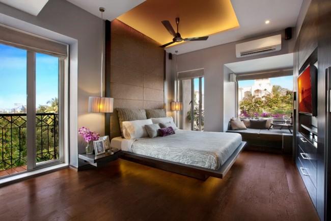 Les cloisons sèches sont un matériau vraiment polyvalent pour le plafond de la chambre