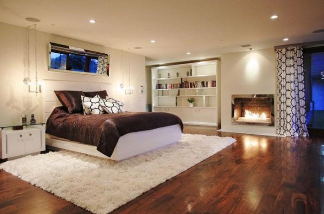 Une conception à un seul niveau sera également la meilleure solution pour les pièces avec des plafonds bas.